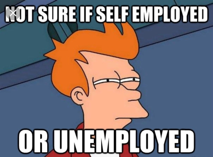 Self-employed-unemployed